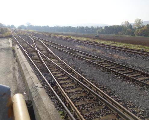 BTN Callenberg | Wolf IDVT | Gleisbau | Anschlussbahn | Hauptprüfung | Ausschreibung | Bauüberwachung